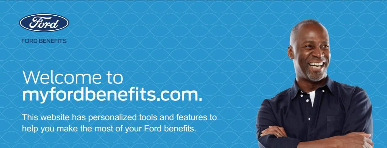 myfordbenefits.com website