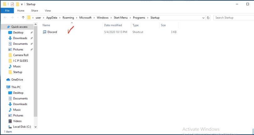 Program added to windows start up.