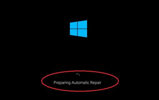 Automatic Repair Window After 3 Interruptions