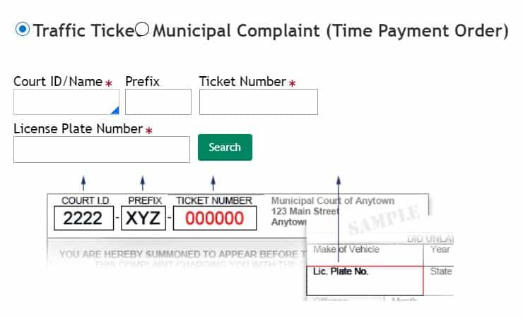 Find New Jersey Municipal Traffic Ticket Njmcdirect