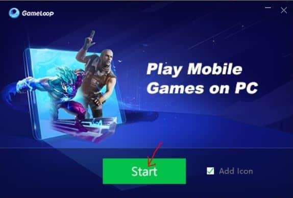 Pubg Mobile Game Start on Windows 10