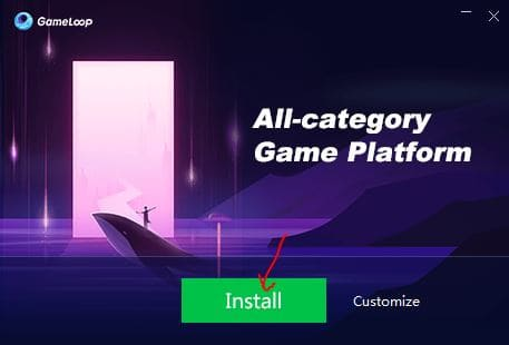 Install Gameloop Page