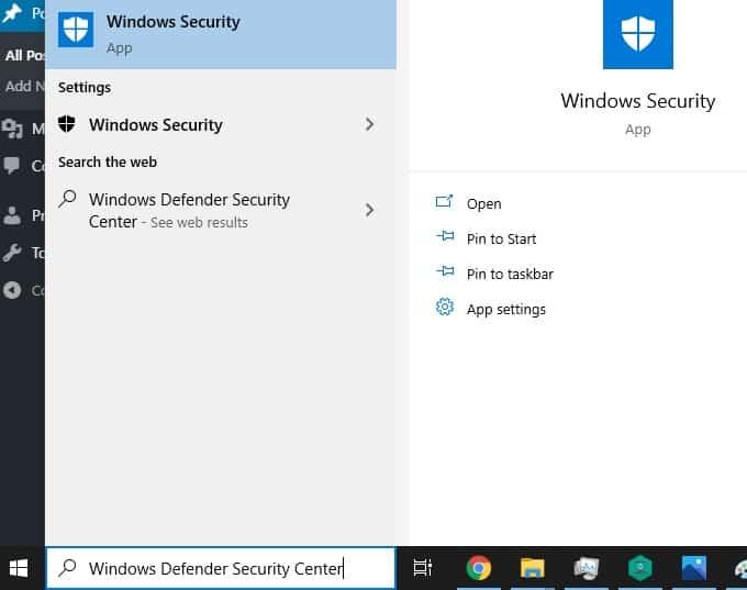 windows security center image