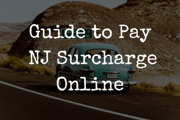 NJ Surcharge Payment Online at www.njsurcharge.com