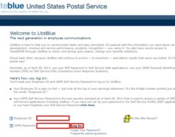 LiteBlue USPS Log On