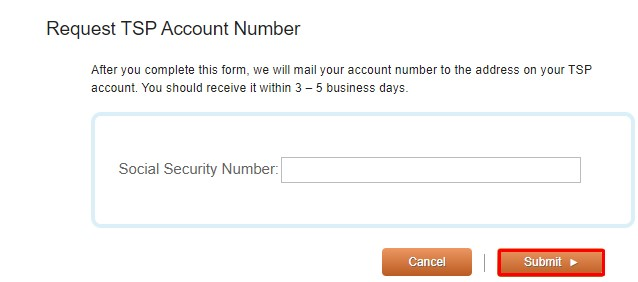 Request TSP account number