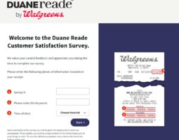 Walgreens Listens Online Feedback Survey