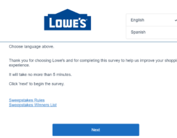 Www.Lowes.Com/Survey