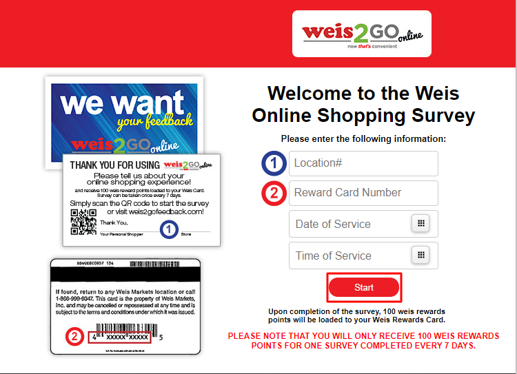 WeisFeedback.Com Official Site
