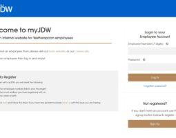 MyJDW Login - Weatherspoon Employee Login